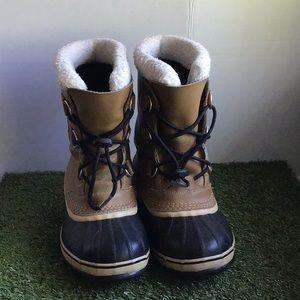 👨🏻💼 Sorel Waterproof Boots, Size 6
